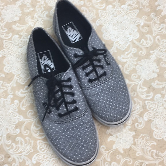 Vans Shoes - Vans Gray Polka Dot Sneakers
